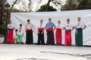 Гопаківці на святі Cossack Art у Афінах