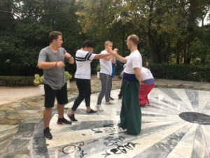 Тренування до виступу на Cossack Art у Афінах